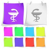 Pharma symbol — Stock Vector