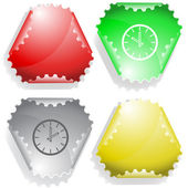 Reloj — Vector de stock