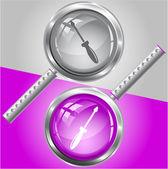 отвертка — Cтоковый вектор