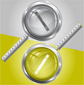 Spirit level — Stock Vector