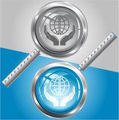 Ochranu svět — Stock vektor