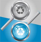 Recycle symbol — Vector de stock