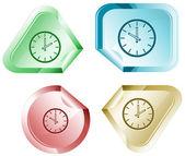 Saati — Stok Vektör