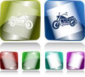 Motorfiets — Stockvector