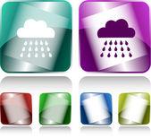 Rain — Stock Vector