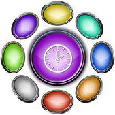 Clock — Stock Vector