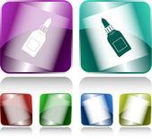胶瓶 — 图库矢量图片