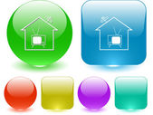 Home TV — Stock Vector