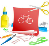 Bicycle — Stock Vector