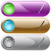Ruling pen — Stock Vector