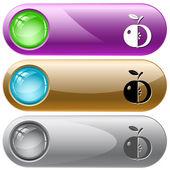 Apple — Cтоковый вектор