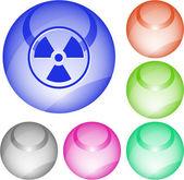Radiation — Vector de stock