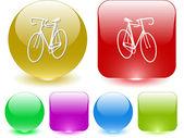 自行车 — 图库矢量图片