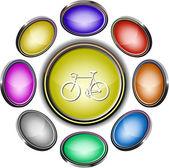 Bicycle — Stock vektor