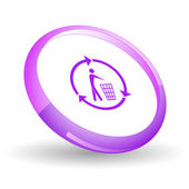 Recycling bin — Stockvector