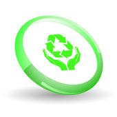 Recycle symbol — Stockvektor