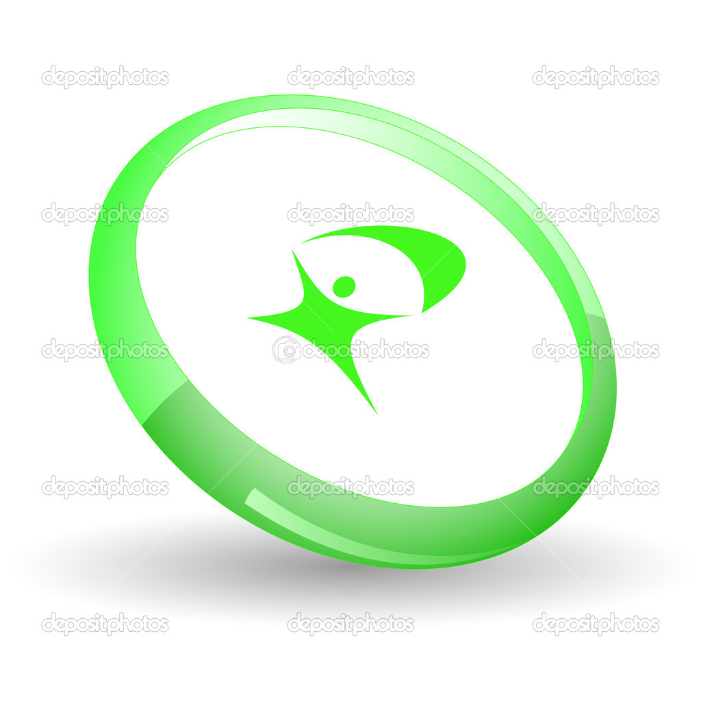 Little man. Vector icon. — Stock Vector #6836611