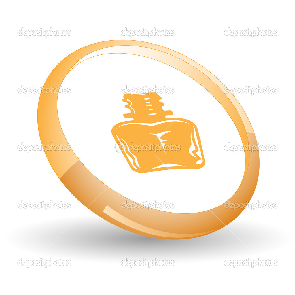 Inkstand. Vector icon.  Stock Vector #6836750