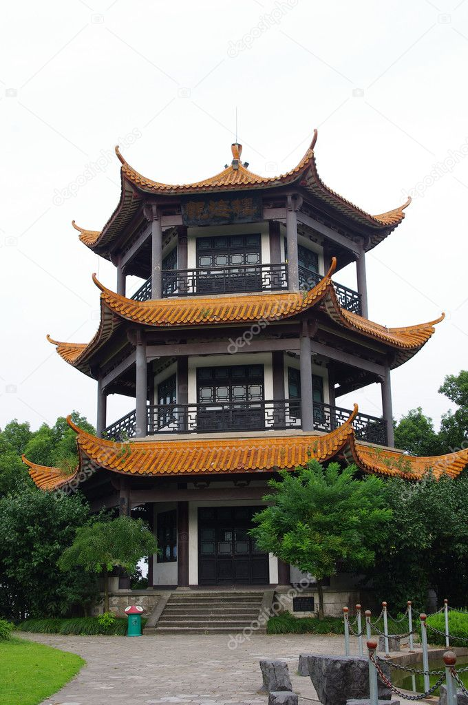 China Tower — Stock Photo #6749786
