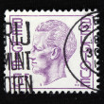 Close-up retro stamps — Stock Photo