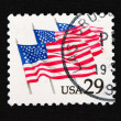 Close-up retro stamps — Foto de Stock
