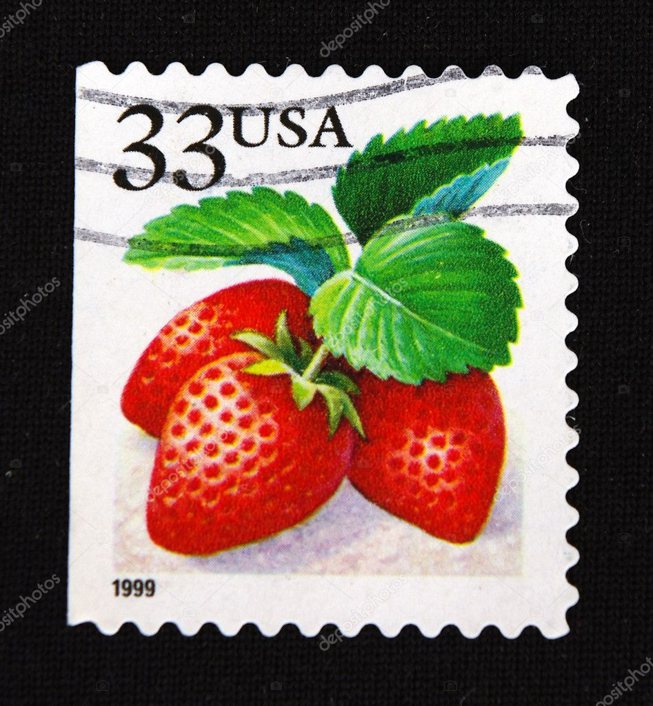Close-up retro stamps  Stock Photo #7265490