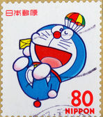 Japanese stamps — Stock Photo