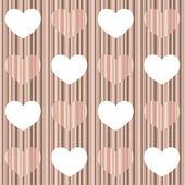 Pastell hjärta — Stockvektor