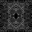 Постер, плакат: Tatoo black taboo pattern