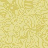 Mustard background — Stock Vector