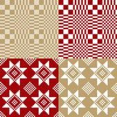 白俄罗斯国家的装饰品之一 — 图库矢量图片