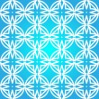 Frozen winter seamless pattern — Stock Vector