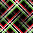 Plaid patten - Stock Photo