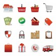 Royalty-Free Stock Vector Image: Icons Set for Web Applications, sale icons, Shopping icons, Shopping Icon S