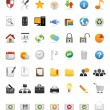 Stock vektor: Web Icons, Internet & Website icons, office & universal icons, icon