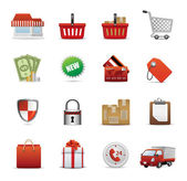 Icons Set for Web Applications, sale icons, Shopping icons, Shopping Icon S — Vector de stock