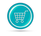 Shopping cart icône vector illustration — Vecteur