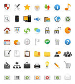 Web iconen, internet & website pictogrammen, office & universele pictogrammen, pictogram — Stockvector