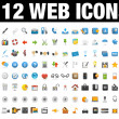 Icons Set for Web Applications, Internet &amp; Website icons, Universal ico - Image vectorielle