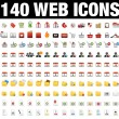 Icons Set for Web Applications, Internet &amp; Website icons, - Stock Vector