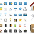 Stock Vector: Icons Set for Web Applications, Internet & Website icons