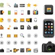 Icons Set for Web Applications, Internet & Website icons — Stock Vector