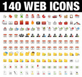 Icons Set for Web Applications, Internet & Website icons, — Vector de stock