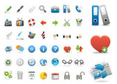 Icons Set for Web Applications, Internet & Website icons, — Stock Vector