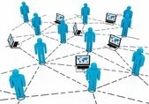 Business team Network — Stock Photo