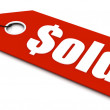 Royalty-Free Stock Photo: Sold ticket