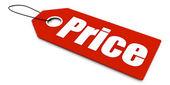 Price ticket — Stock Photo