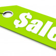 Stock Photo: Sale ticket