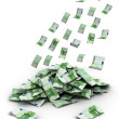 Foto Stock: Falling Money