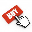 Stock Photo: Buy button concept